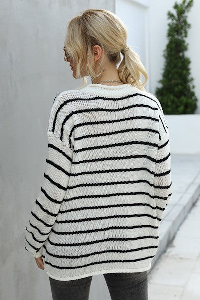 Earn Your Stripes Lightweight Sweater
