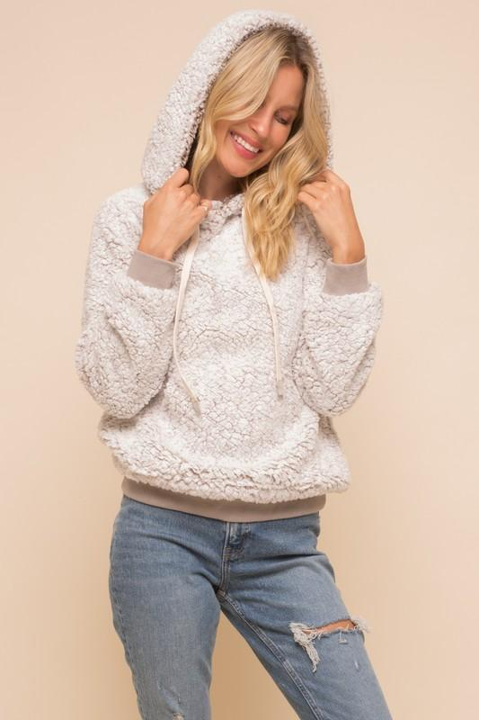 It's So Fluffy Sherpa Pullover