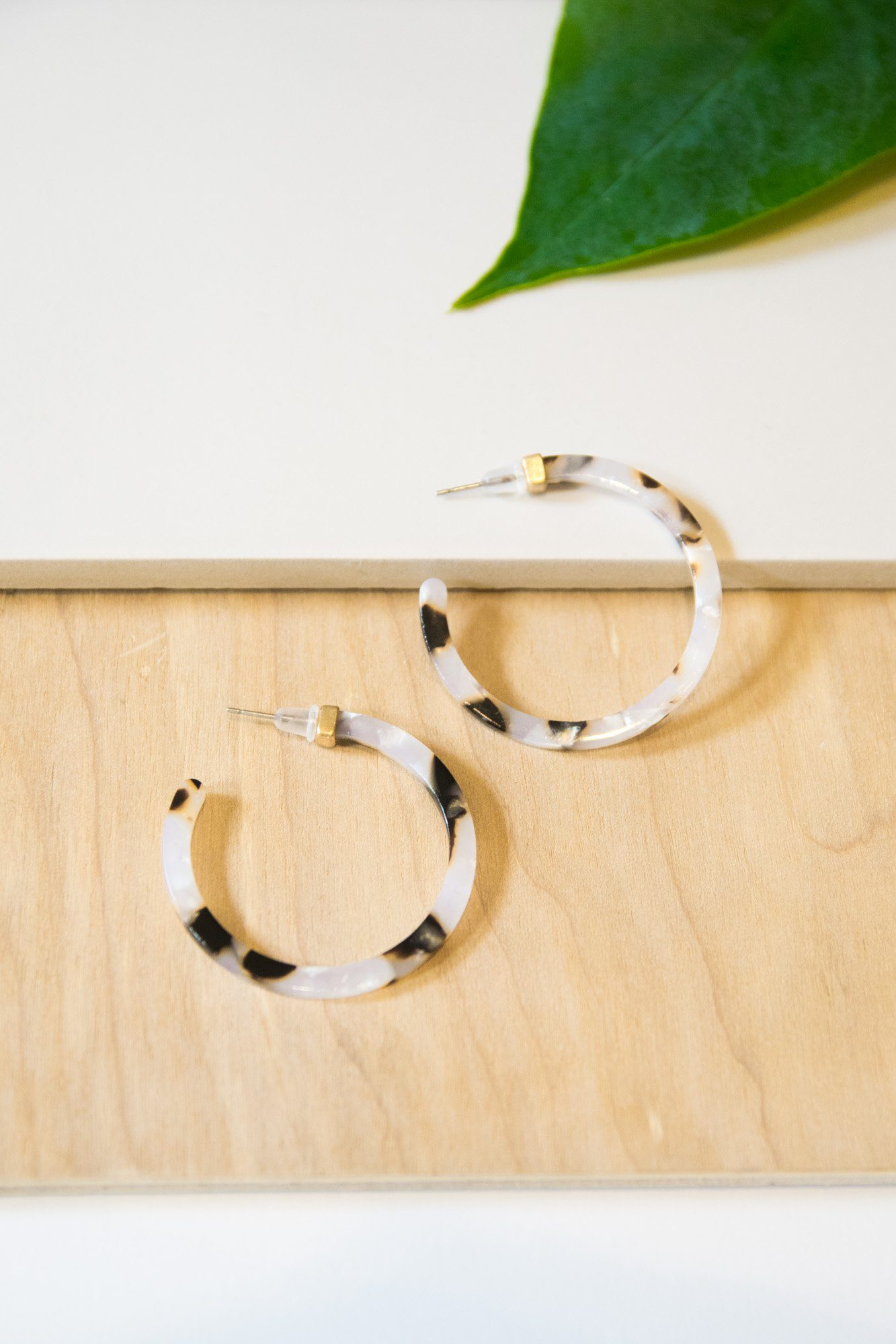 Coming Full Circle Resin Hoops
