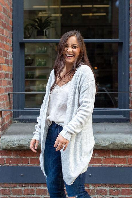 Northern Comfort Open Cardigan Sweater