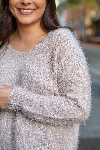 Easy Fuzz It Pullover Sweater
