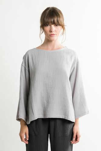 Wizard of Gauze Textured Top