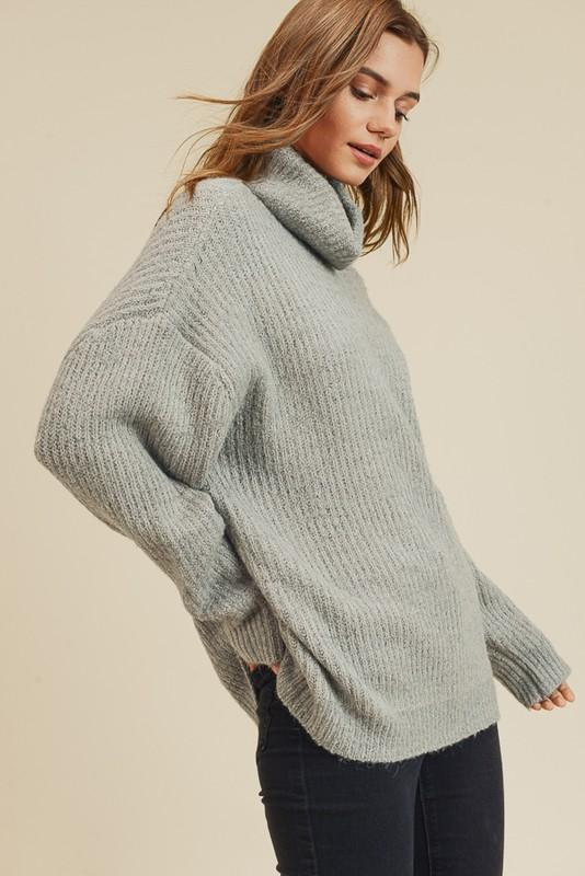 Play That Chunky Music Turtleneck Sweater