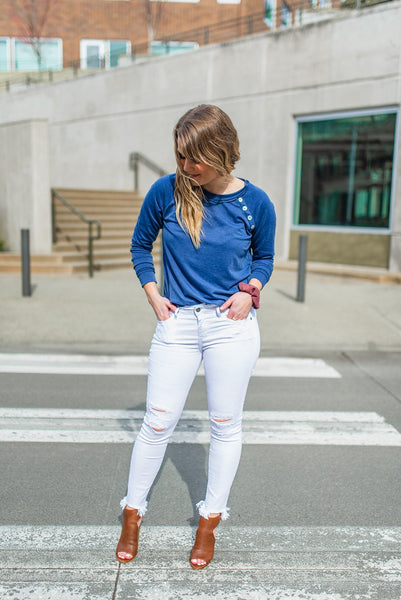 Casual Friday Knit Pullover