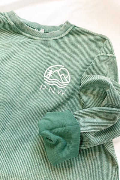"""PNW"" Exclusive Corded Sweatshirt"