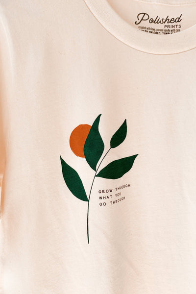 Grow Through What You Go Through Graphic Tee