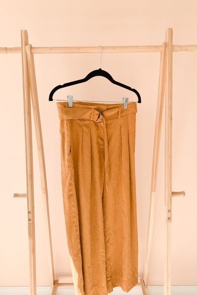 Blast From the Past Wide-Leg Pants