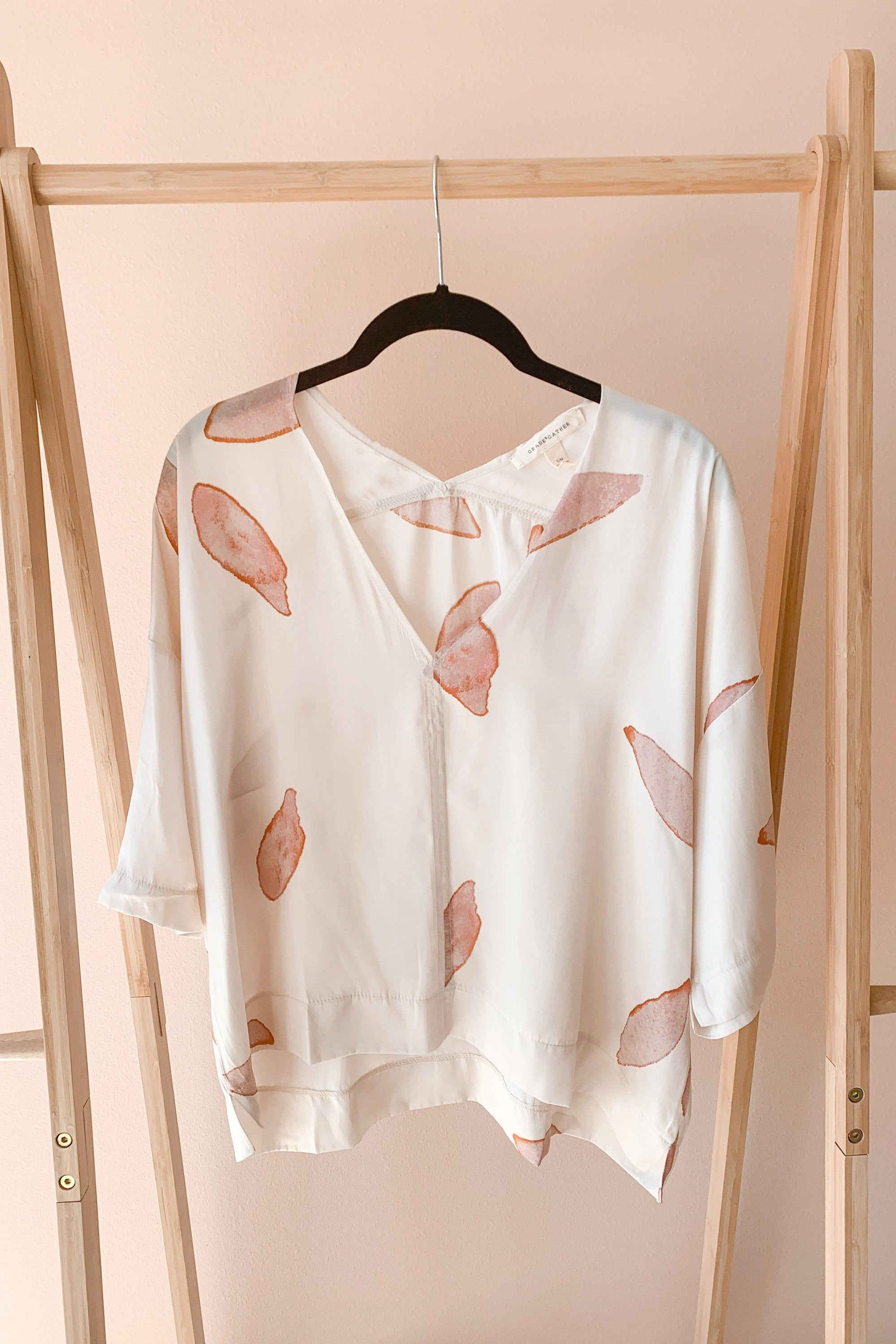 Petal to the Metal Printed Blouse