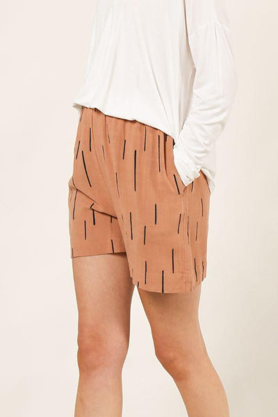 The Long and Short Of It Printed Shorts
