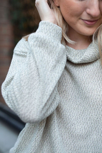 Knits and Pieces Cowl Neck Pullover