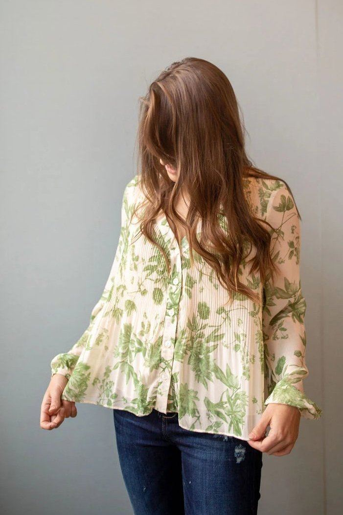 Escape to the Tropics Blouse
