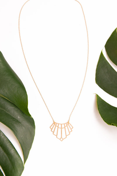Decked in Art Deco Necklace