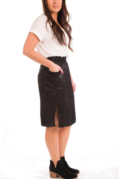 Slit Got Real Pencil Skirt