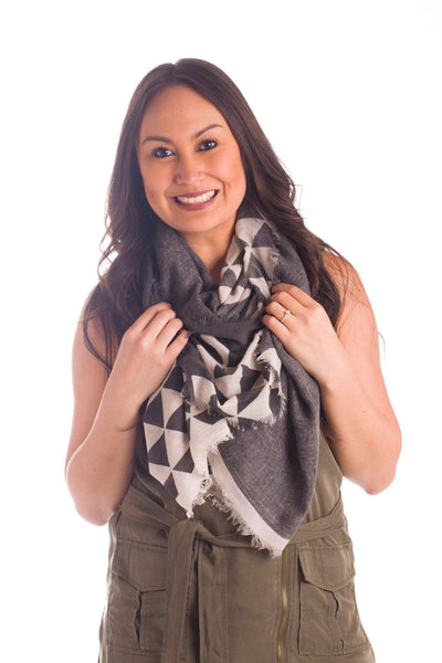 Get in Shape Lightweight Scarf || shoprollick.com