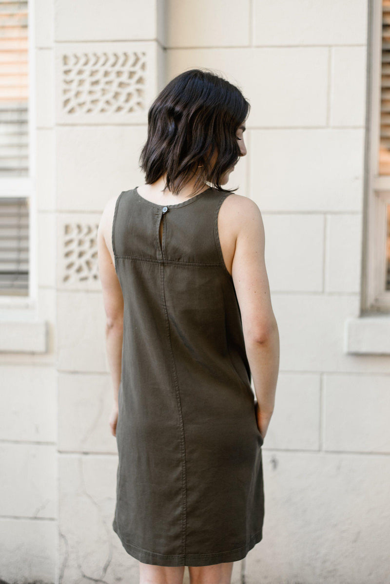 Shifting Gears Tencel Tank Dress