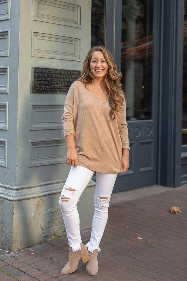 Hump Day Camel Tunic Sweater
