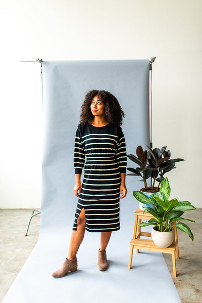 Werk Werk Werk Knit Striped Dress