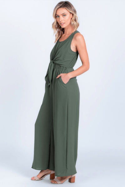 Jump On In Wide Leg Jumpsuit