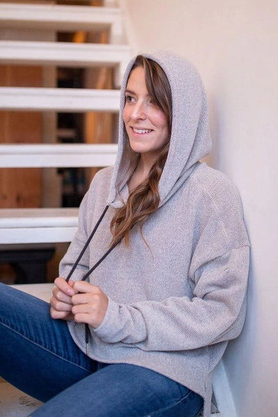 Little Grey Riding Hoodie