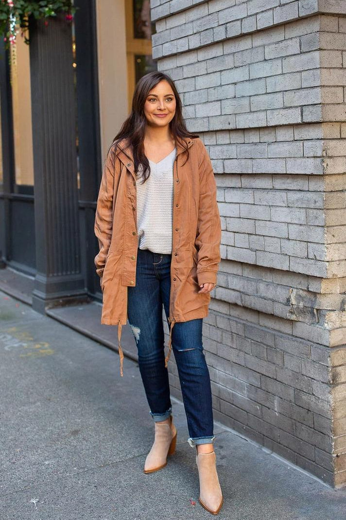 Sugar and Pumpkin Spice Casual Jacket