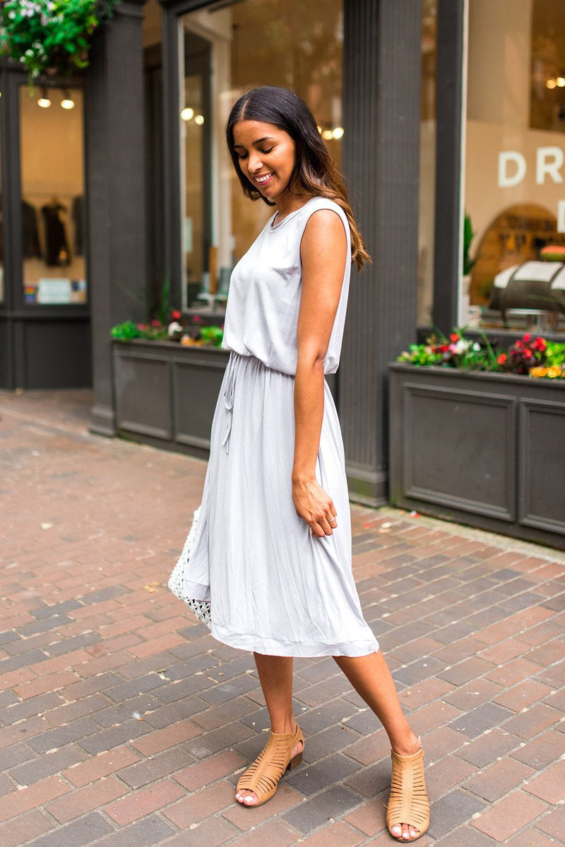 A Whole New Twirled Knit Dress