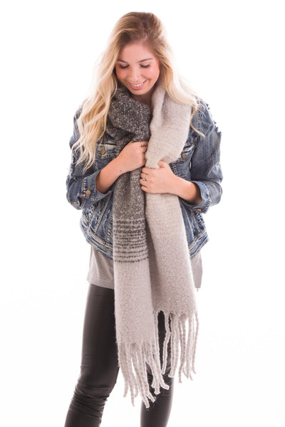 Bad Ombre Knit Scarf