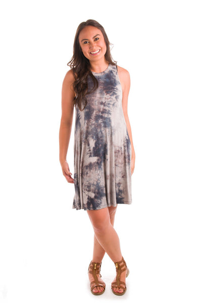 Tie Dye For Knit Dress
