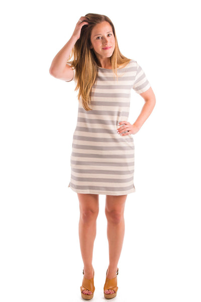 Earn Your Stripes Knit Dress