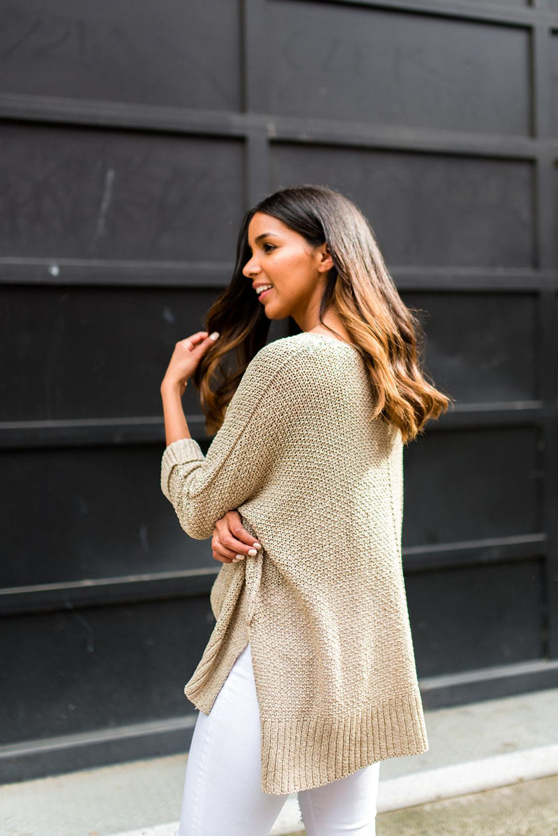 Throw and Go Lightweight Sweater