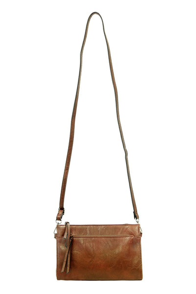 Got a Cognac For It Crossbody Bag