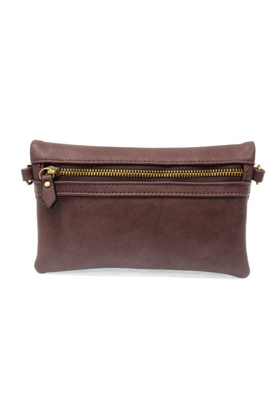 To Have and to Fold Crossbody Clutch in Purple