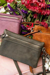 To Have and to Fold Crossbody Clutch in Green