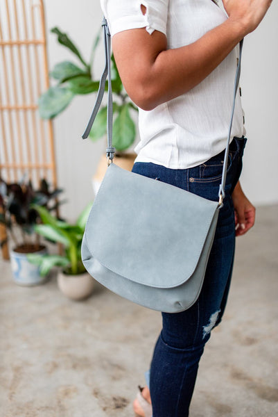Blue Suede Views Satchel