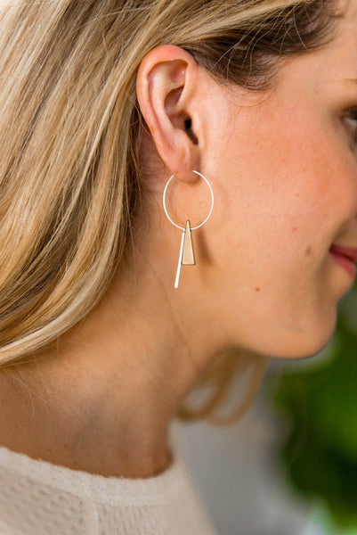What's Your Tri-Angle Geometric Earrings
