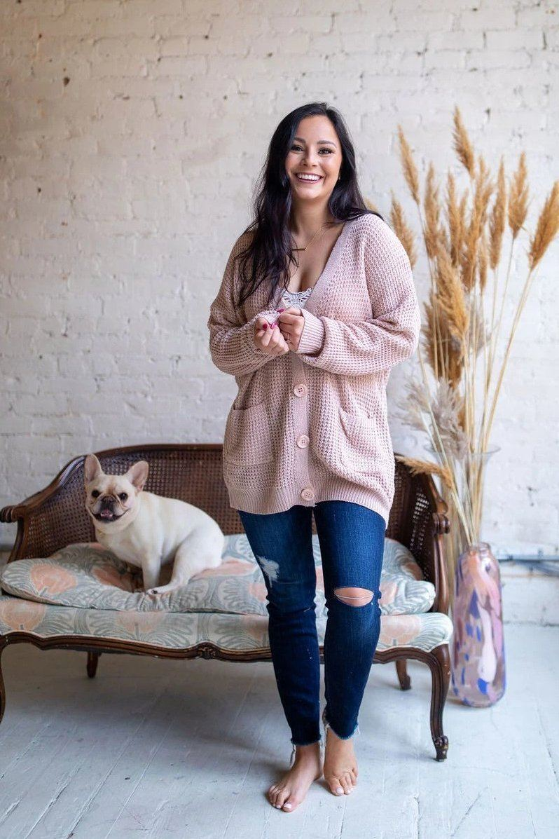 Tickled Pink Cardigan