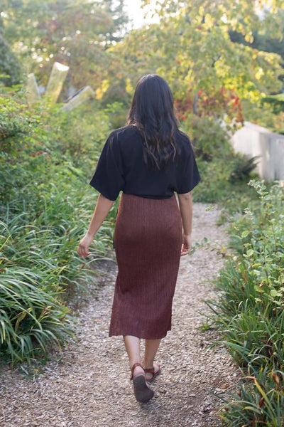 Slit Got Real Midi Skirt