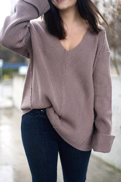 Off the Cuff Pullover Sweater