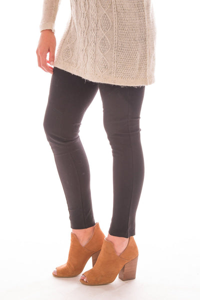 Basic Britches Moto Ponte Leggings