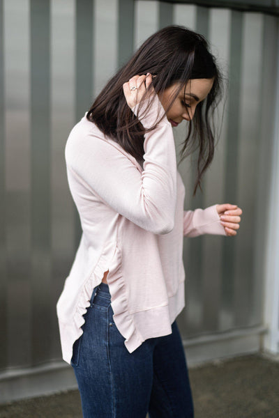 Frill Seeker Pullover Sweater