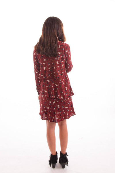 Tiers in Heaven Floral Dress