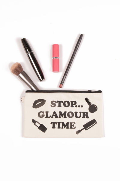 Stop...Glamour Time Zip Pouch