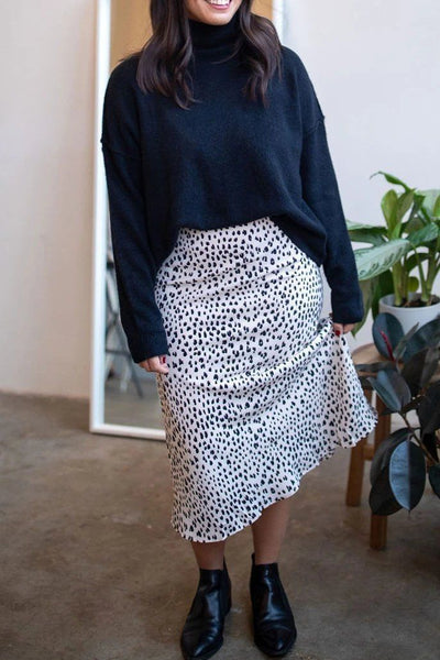 Hits the Spot Midi Skirt