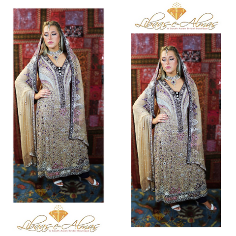 Libaas-e-Almas Wedding Dresses Lengha