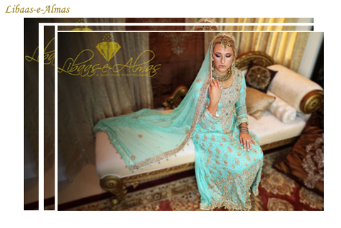 Libaas-e-Almas Wedding Dresses Collection