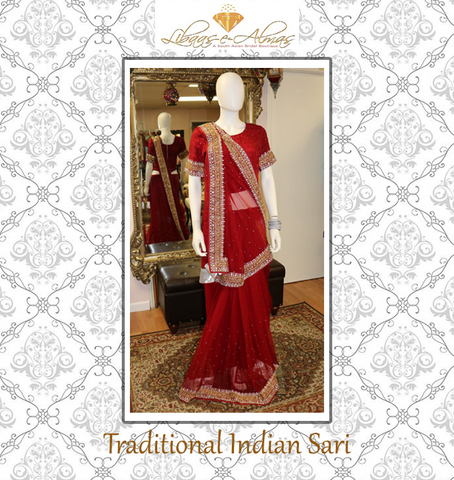 libaasealmas traditional indian sari
