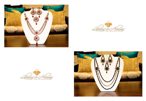 Libaas-e-Almas Bridal Jewelry Sets