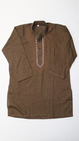 Brown Shalwar Kameez