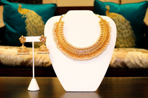 Almas Yellow Gold Set