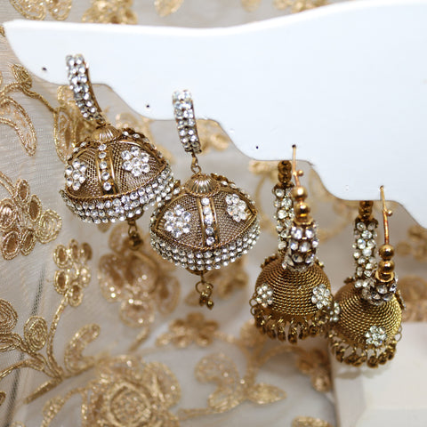 Gold Bling Earrings