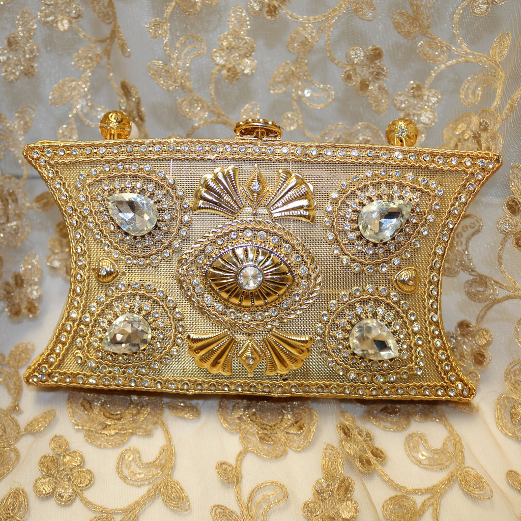 Alloy Gold Clutch